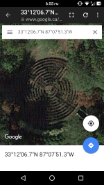 Coordinates of the Maze